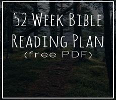 Classic Bible Reading Plans 18 23