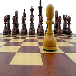 Never give up a game chess with one pawn left