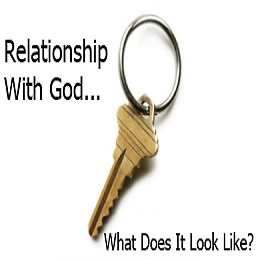 The key to a Relationship with God