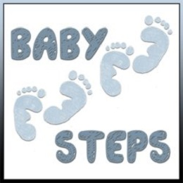 Baby Steps when accepted Jesus and rely on the Holy Spirit