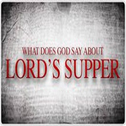 Reasons why we partake of the Lord's Supper