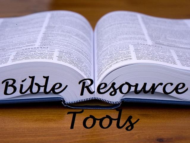 Bible Resource Tools Helps